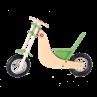 Bici in legno Chopper